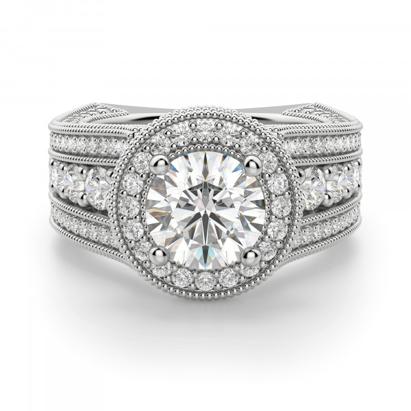 Chelsa Round Cut Engagement Ring