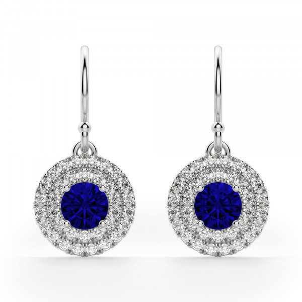 Dubai Sapphire Drop Earrings