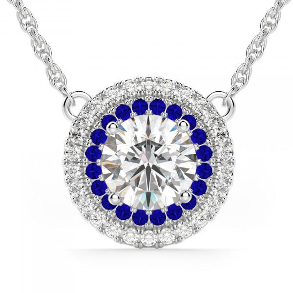 Dubai Sapphire Necklace