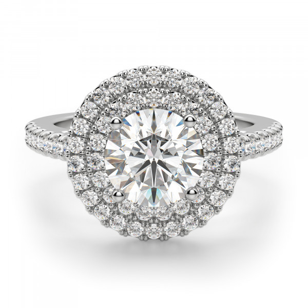 Dubai Round Cut Engagement Ring