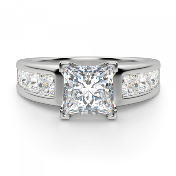 Escada Princess Cut Engagement Ring