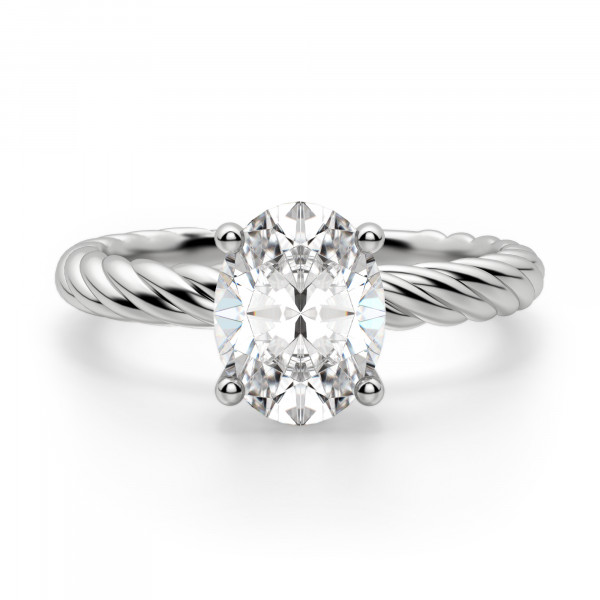 Fiji Oval Cut Engagement Ring