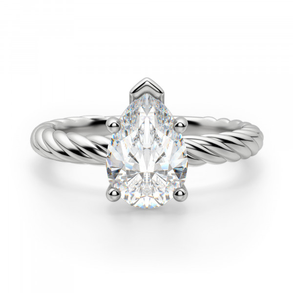Fiji Pear Cut Engagement Ring