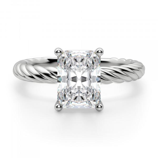 Fiji Radiant Cut Engagement Ring