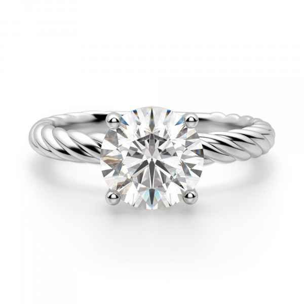 Fiji Round Cut Engagement Ring