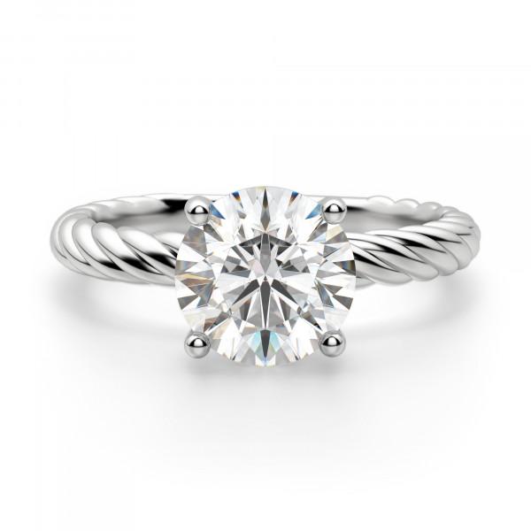 Fiji Round Cut Engagement Ring