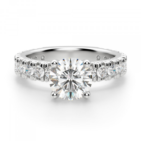 Gwyneth Round Engagement Ring