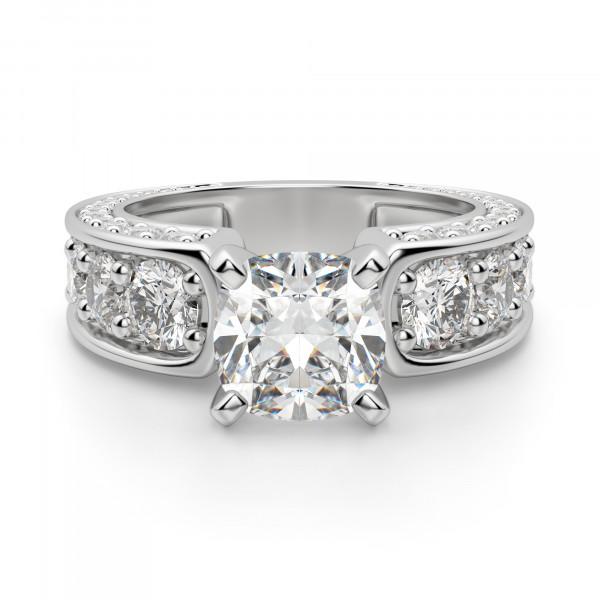 Hypnotique Cushion Cut Engagement Ring