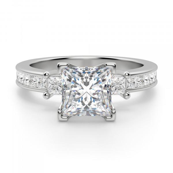 Kit Princess Cut Engagement Ring