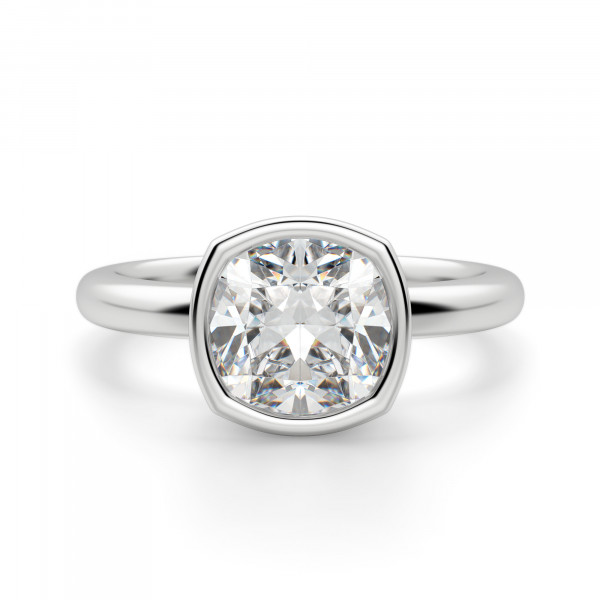 Marseille Cushion Cut Engagement Ring