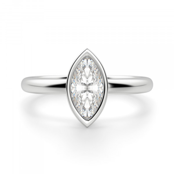 Marseille Marquise Cut Engagement Ring