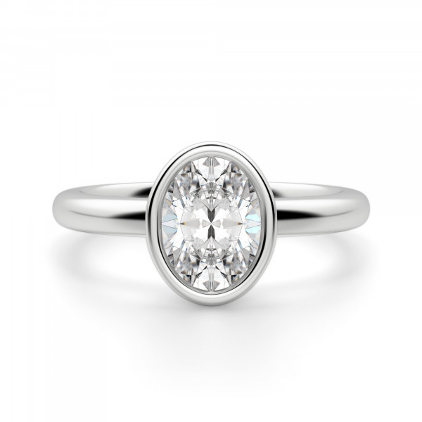 Marseille Oval Cut Engagement Ring