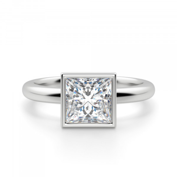 Marseille Princess Cut Engagement Ring