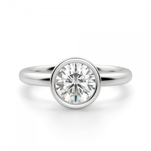 Marseille Round Cut Engagement Ring