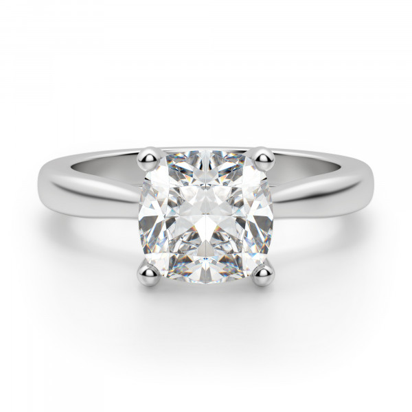 Montreal Cushion Cut Engagement Ring