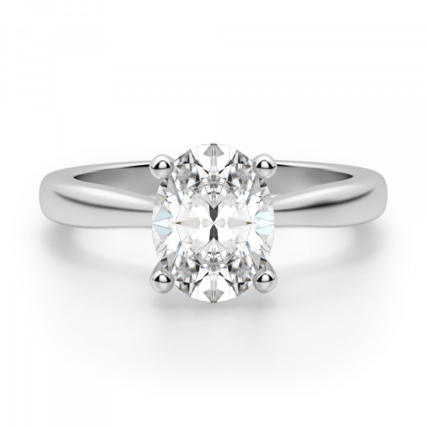 Montreal Oval Cut Engagement Ring