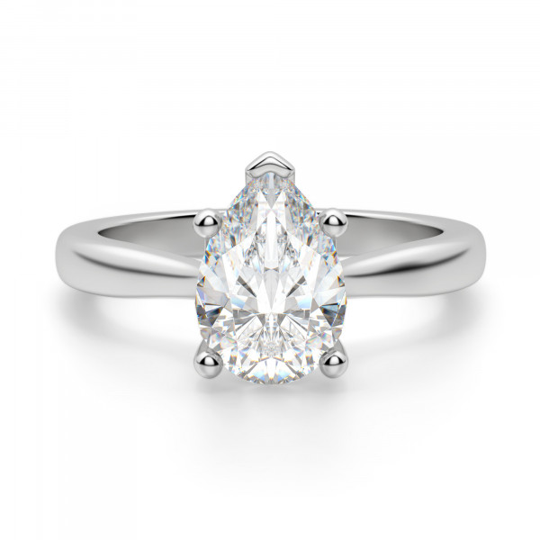 Montreal Pear Cut Engagement Ring