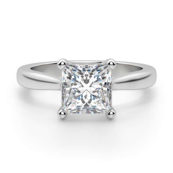 Montreal Princess Cut Engagement Ring