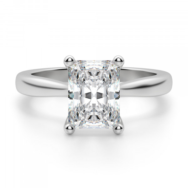 Montreal Radiant Cut Engagement Ring