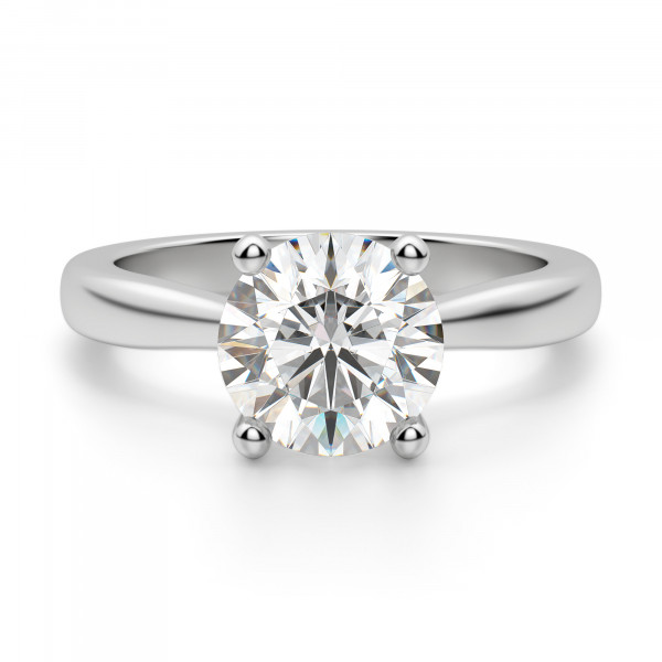 Montreal Round Cut Engagement Ring