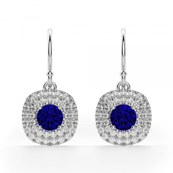 Pamplona Sapphire Drop Earrings