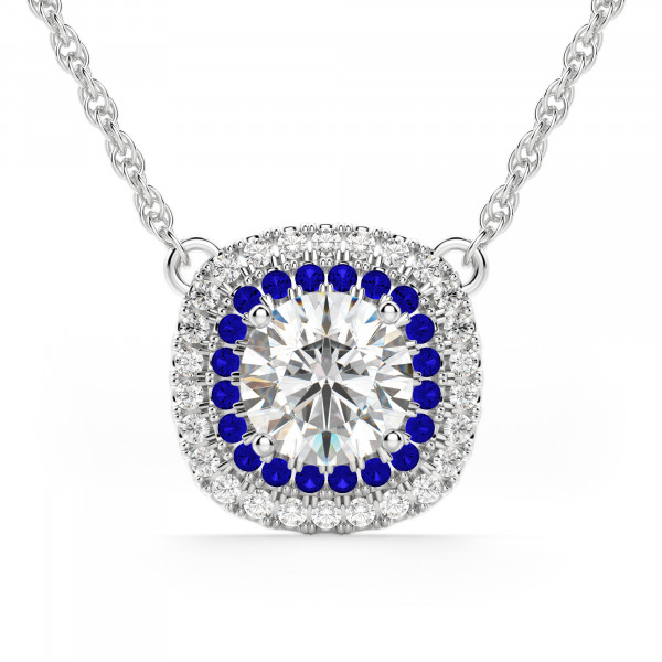Pamplona Sapphire Necklace