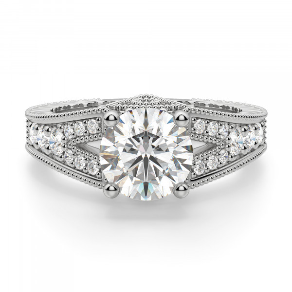Valencia Round Engagement Ring