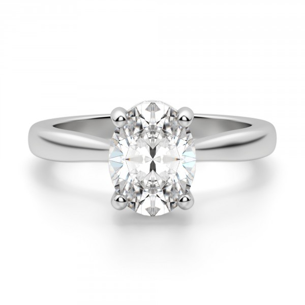 Verona Oval Cut Engagement Ring