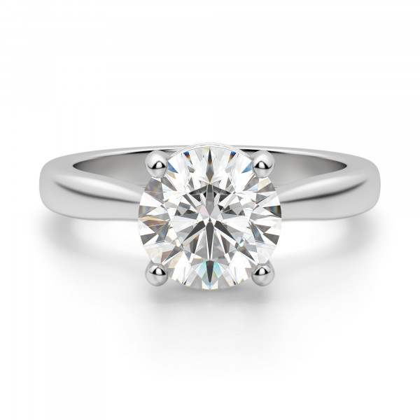 Verona Round Cut Engagement Ring