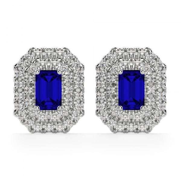 Copenhagen Sapphire Stud Earrings