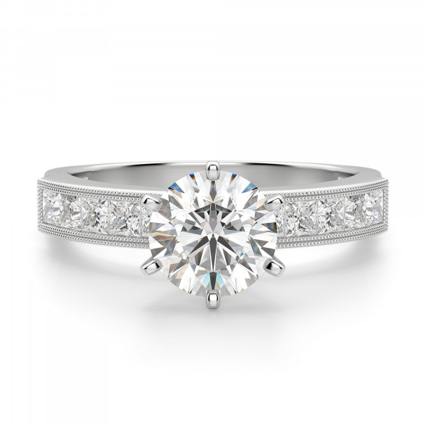 Alyssa Round Cut Engagement Ring