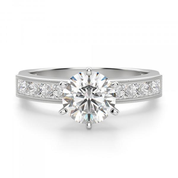 Alyssa Round Cut Engagement Ring
