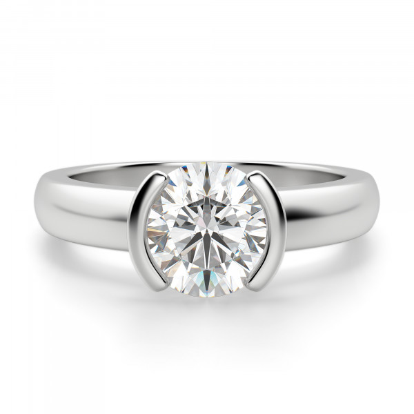 Mahina Round Cut Engagement Ring