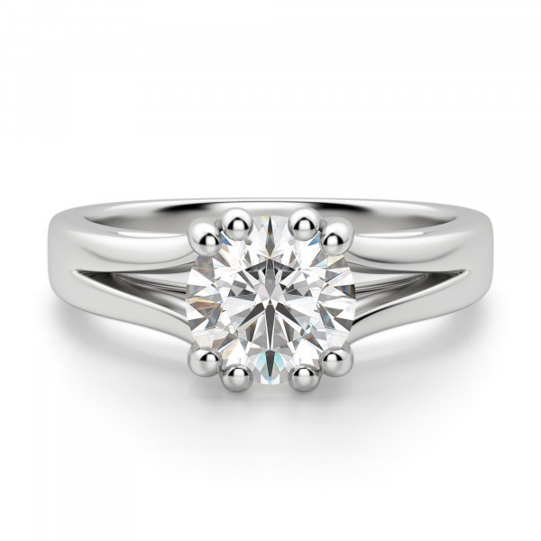 Savannah Round Cut Engagement Ring
