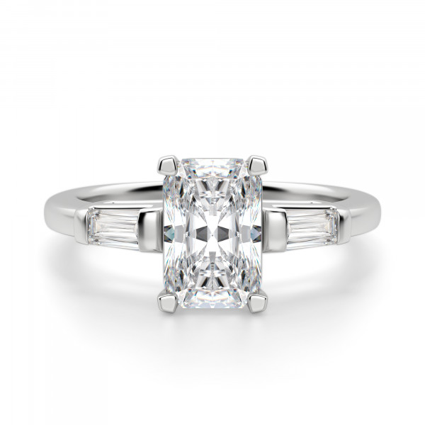 Endless Days Radiant Cut Engagement Ring