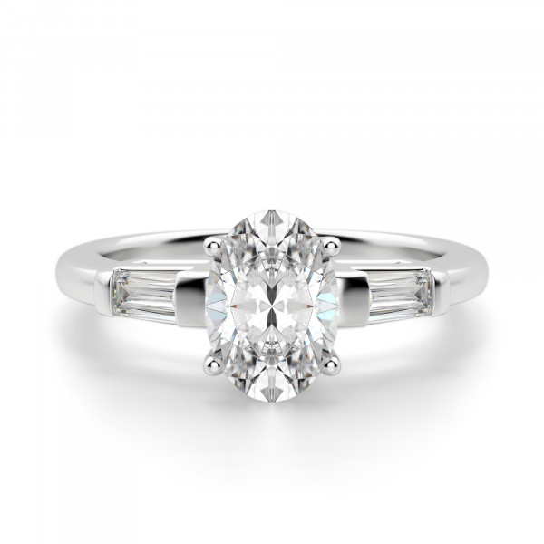 Endless Days Oval Cut Engagement Ring
