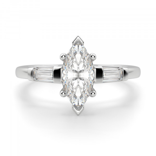 Endless Days Marquise Cut Engagement Ring
