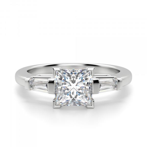 Endless Days Princess Cut Engagement Ring