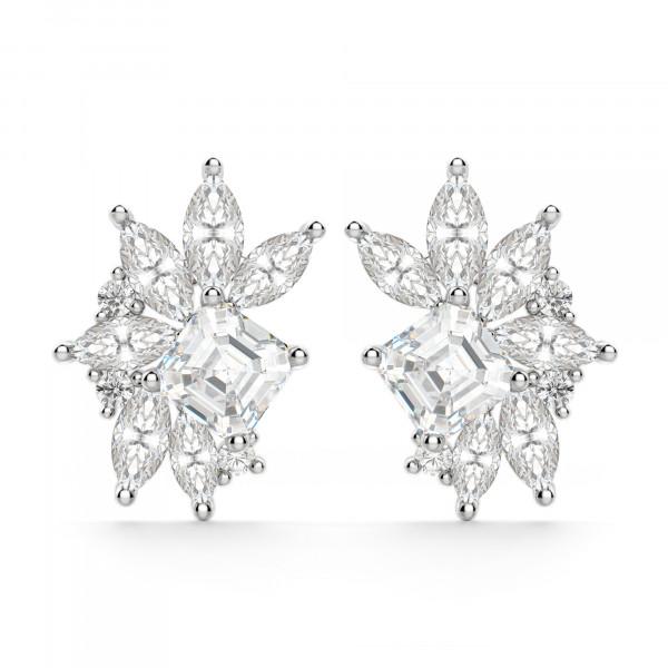 Gardenia Cluster Stud Earrings