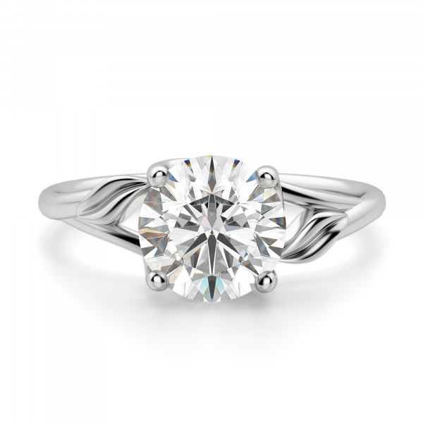Ivy Round Cut Engagement Ring