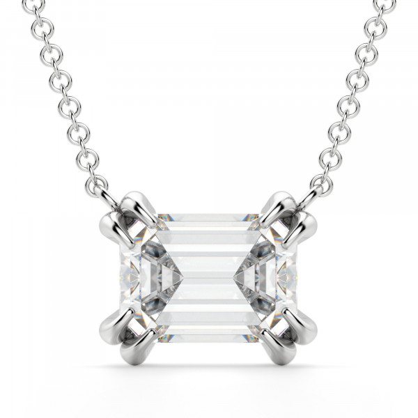 East-West Emerald Necklace