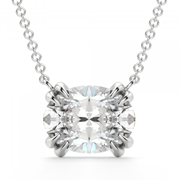East-West Oval Necklace