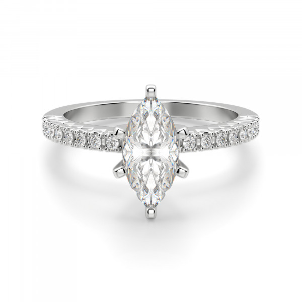 Angelix Marquise Cut Engagement Ring