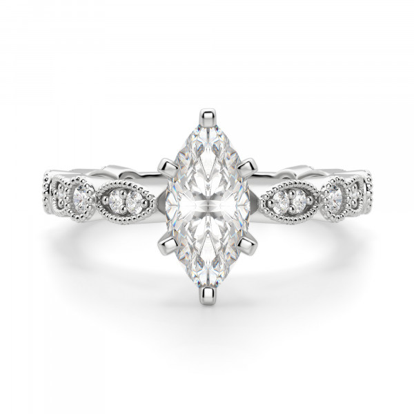 Infinite Love Marquise cut Engagement Ring