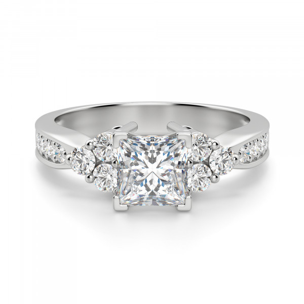 Casey Princess Cut Engagement Ring