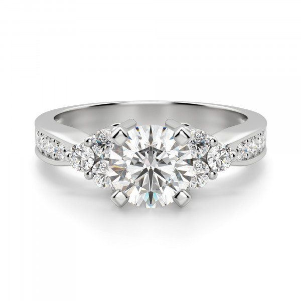 Casey Round Cut Engagement Ring