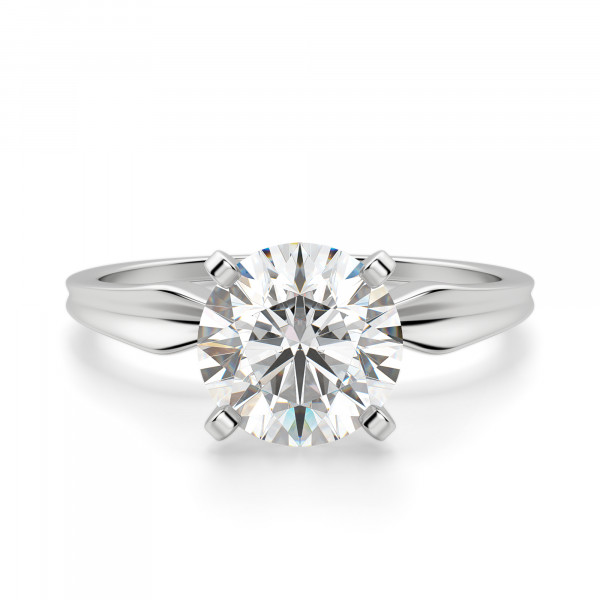 Soliloquy Round Cut Engagement Ring