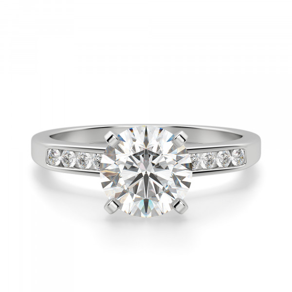 Teryn Round Cut Engagement Ring