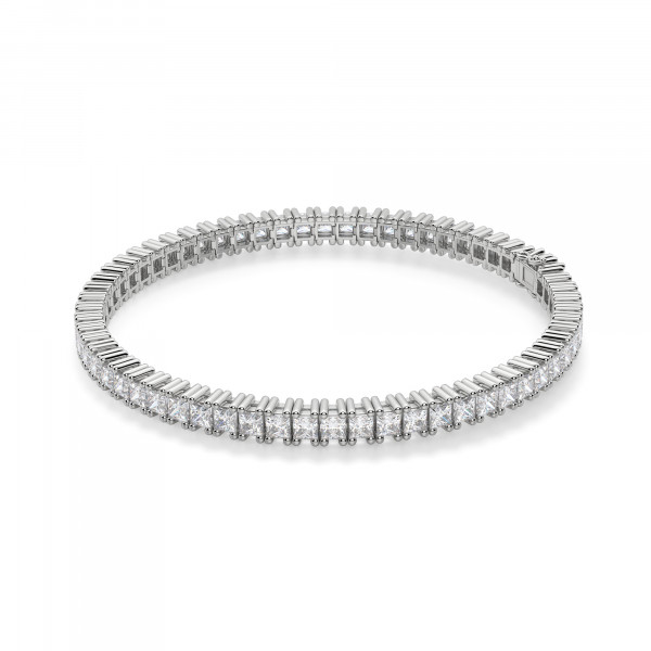 6.20 Carat Princess Cut Tennis Bracelet