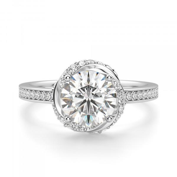 Vienna Round Cut Engagement Ring
